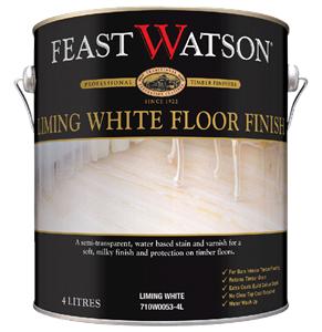 Liming White Floor Finish 4L